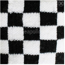 Unisex Black and White Checkered Wristband/Sweatband - Brand New