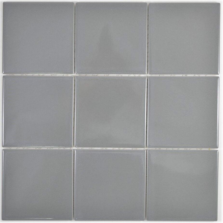 Mosaïque carreau céramique métal brillant cuisine mur bain 23-2203_f  10 plaques