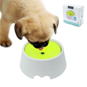 anti gulping pet dog bowl dog puppy food water dish small 300ml safe