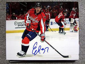 EVGENY KUZNETSOV Washington Capitals SIGNED Autographed 8X10 Photo w/ COA c