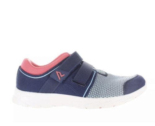 Grey and Blue Vionic Brisk Ema Athletic Shoe