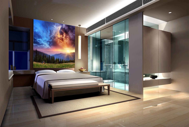 3D Sunny Sky Lawn 788 Wallpaper Mural Paper Wall Print Wallpaper Murals UK Lemon
