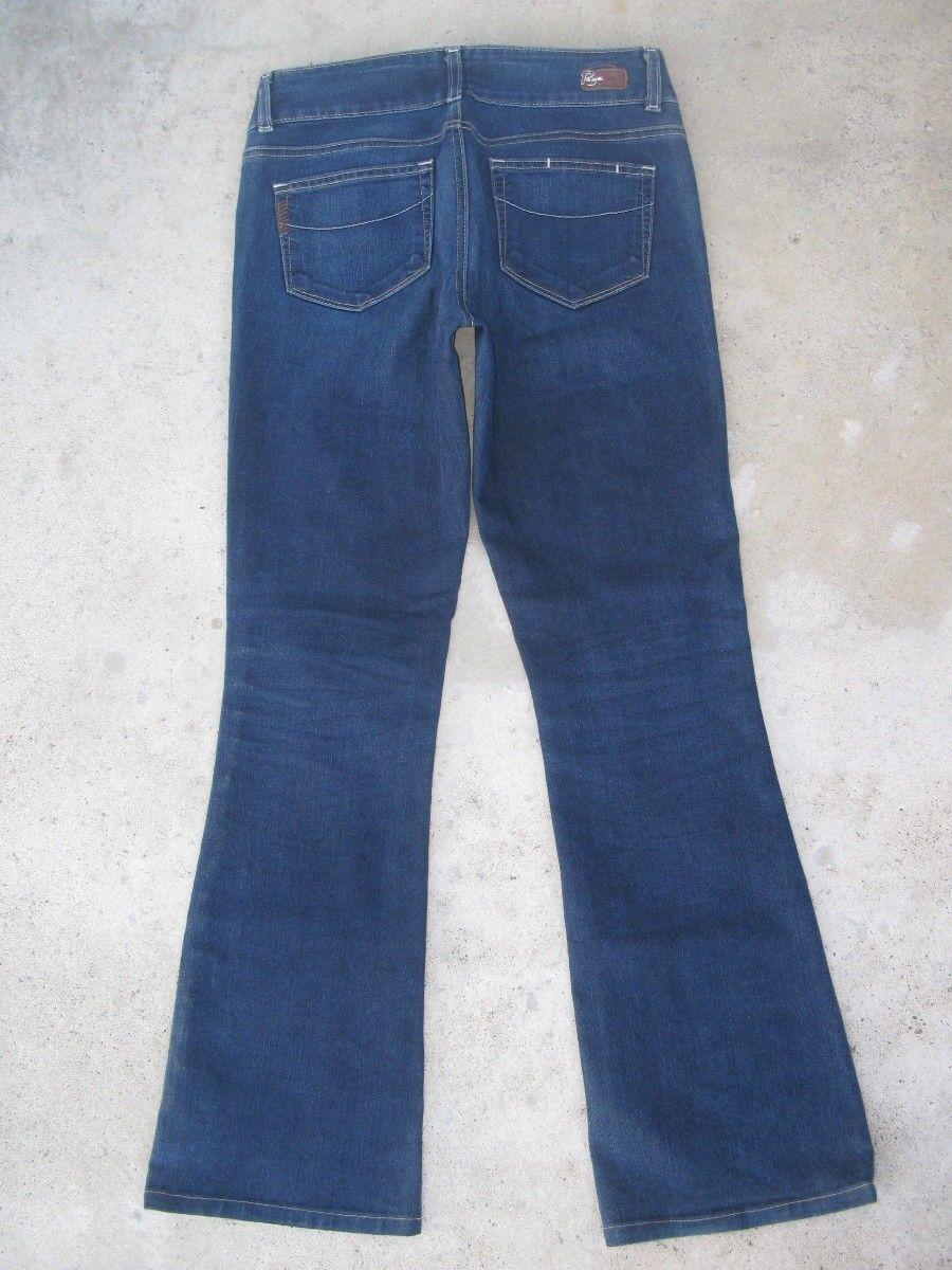 Paige Premium Jeans H.h. Hidden Hills Classic Bootcut Sz 27