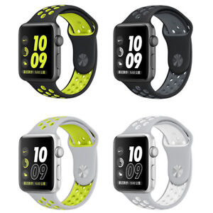 Apple-Watch-Series-2-Nike-38mm-or-42mm-Silver-Plus-Space-Gray-A-Grade
