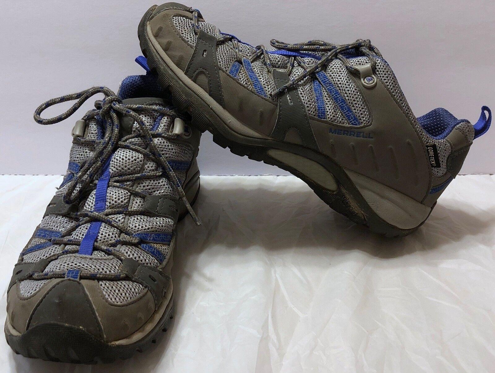 Merrell Siren Sport gore-tex Carbón Ultra Marine zapatos talla 8 senderismo Goretex para senderismo 8 y a4990a