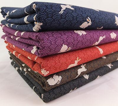 SB Japanese Bunnies 100% Cotton Fabric