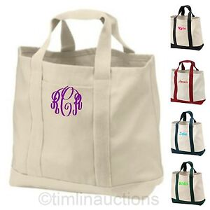 Image Is Loading Reusable Canvas Ping Tote Bag Grocery Beach Bridesmaid