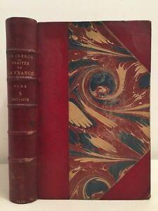 Compendio Delle Trattati Della Francia M.Di Clercq Volume / 1867-1872 Amyot 1872