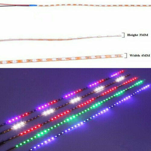 Red, Green, Amber & Blue LED strips