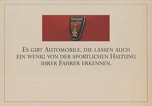 Sammeln & Seltenes Transport Rover 800 827 Vitesse Sterling 820i Prospekt 1988 Pressespiegel Autoprospekt Pkw Kataloge Werden Auf Anfrage Verschickt