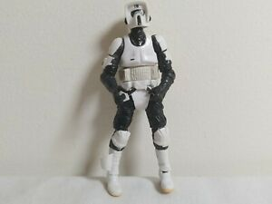Star-Wars-Biker-Scout-Hasbro-4-034-Action-Figure