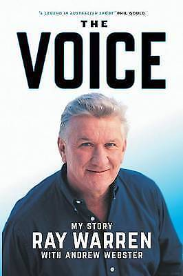 1 of 1 - The Voice,    My Story Ray Warren,     GC-VG~LG~P/B      FAST~N~FREE POST