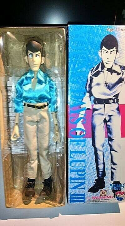 LUPIN THE THIRD YOUNG DAYS OF LUPIN III FIGURE DOLL MEDICOM TOY