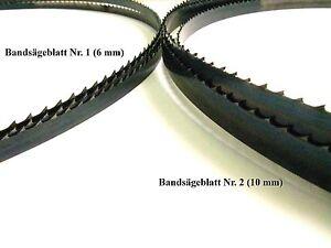 6 und 10mm Bandsägeblatt für DDR Bandsäge E 750 A//D 1000 A