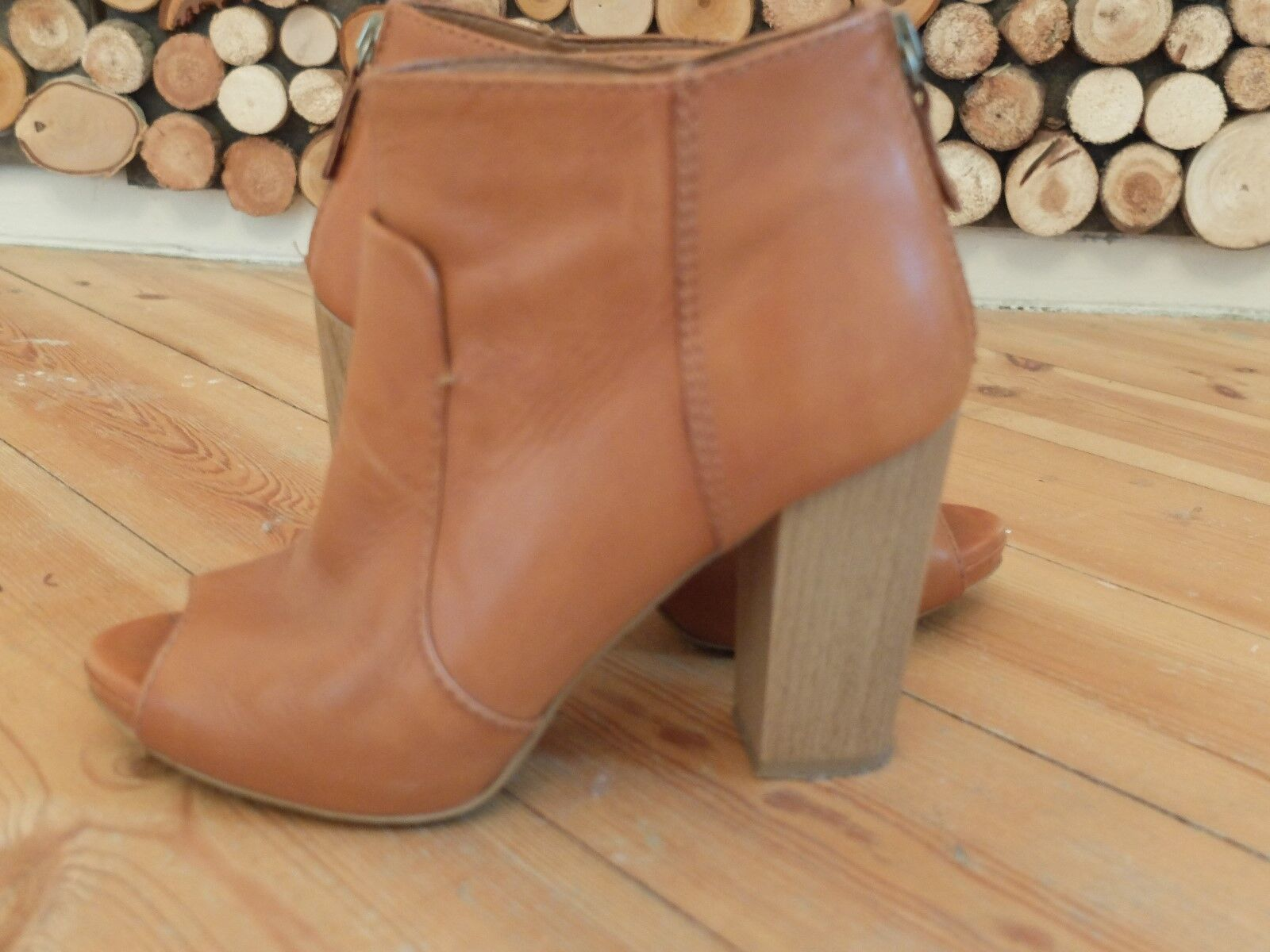 Zara Zara Zara high heels  plateau schuhe braun grösse 37 c73f79
