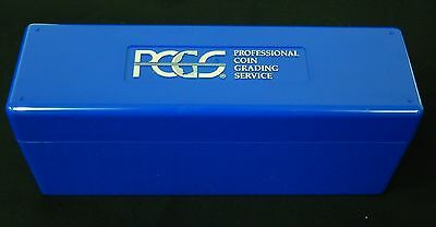 10x PCGS Blue Graded Coin Storage Box Holds 20 Individual Certified Coins New