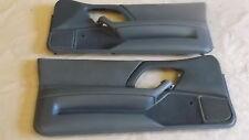 98-99 Camaro Z28 RS SS Door Panels Med Gray Cloth LH RH Pair 0916-14