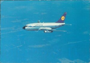 Lufthansa  Boeing 737 City Jet Posted 1968 wuppertal