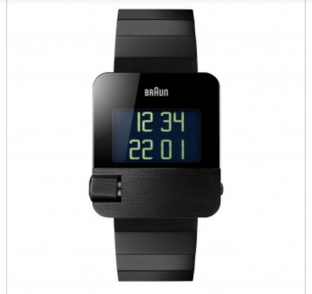 BN0106 Prestige Digital Watch with Stainless Steel Bracelet - Black