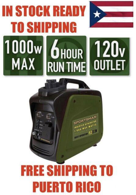 Portable Mini Gasoline Generator Full Copper Frequency Conversion 1000 Watts For Sale Online Ebay
