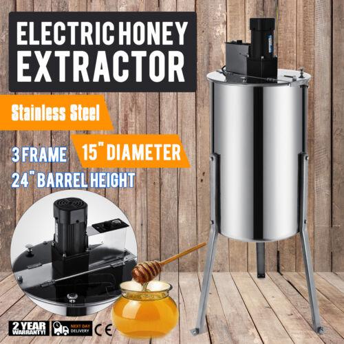 elektro//manuelle  honigschleuder   2//3//4Rahmen edelstahl bienenzucht honig