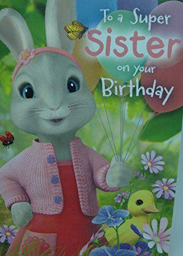 // Son Daughter etc NEW Peter Rabbit Birthday Card Range and Gift Bag