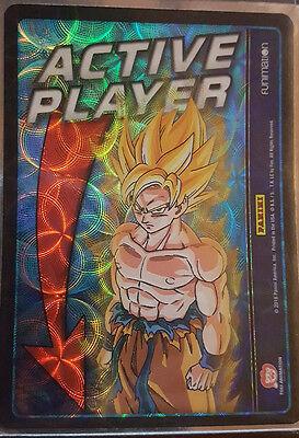 1x Active Player Goku DBZ TCG Vengeance Foil NM Panini