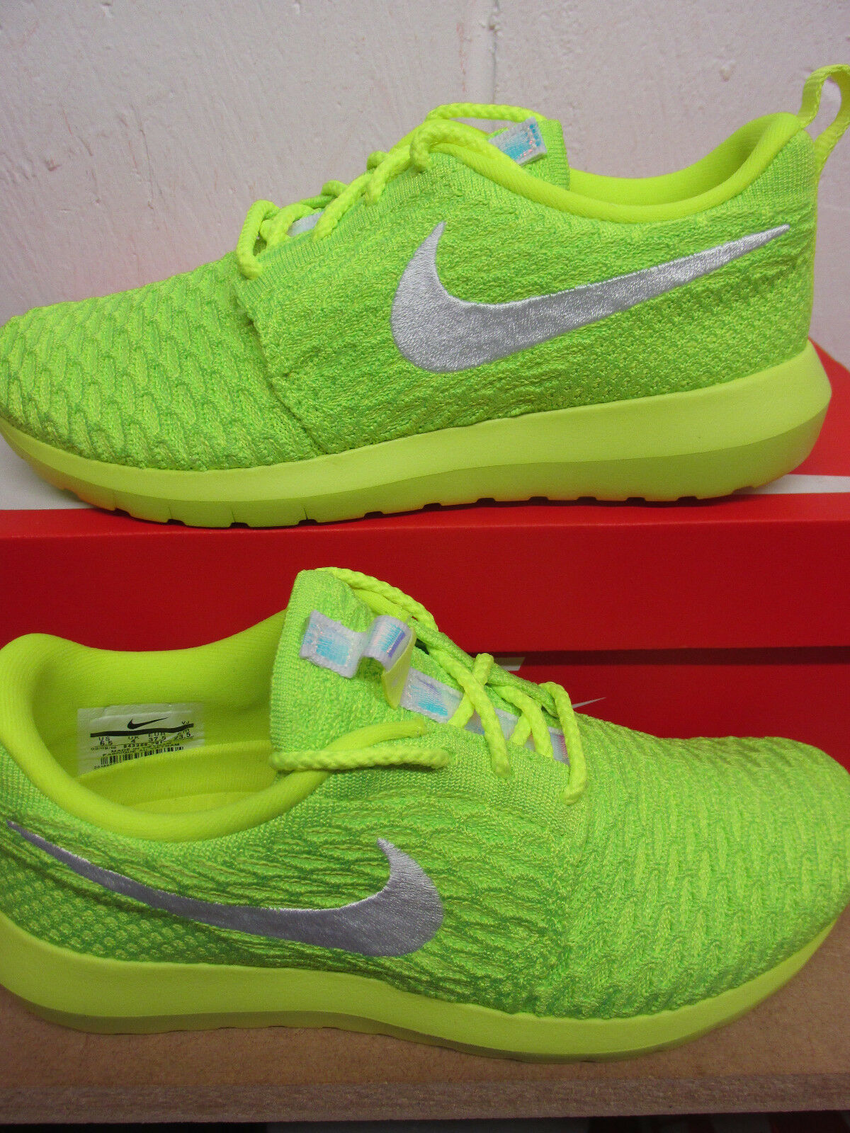 Nike Womens Roshe NM Flyknit Runing Trainers 843386 701 Sneakers Shoes