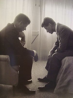 JOHN F KENNEDY AND ROBERT F KENNEDY LIFE MAGAZINE 1960 PHOTO ON 4X6 GLOSSY PAPER