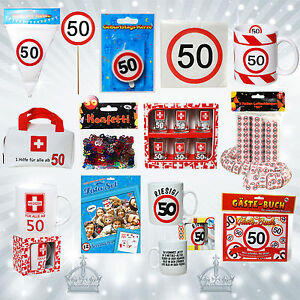 50 geburtstag geschenkartikel deko parydeko party wimpel for Party deko 50 geburtstag