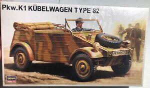 Hasegawa-Pkw-K1-Kubelwagen-Type-82-1-24-NEW-FS-Model-Kit-Sullys-Hobbies