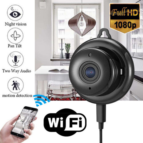 Mini WIFI IP Kamera WLAN Webcam Nachtsicht Camera Überwachungskamera Office new