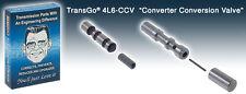 Transgo 4L6CCV Transmission Converter Valve Kit, Non-Lock-Up Pump Conversion