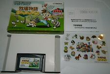 Harvest Moon: Friends of Mineral Town (Game Boy Advance) GBA Japan (W/ Box)