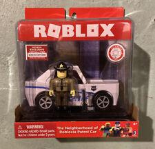 ROBLOX action figures-le quartier de robloxia voiture de patrouille