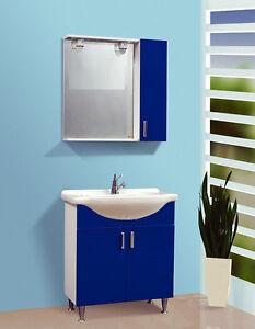 Mobile da bagno colorato varie misure arredo bagno offerta for Mobile bagno misure