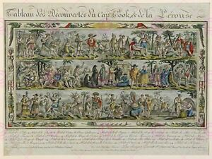 Cultural-Information-Discovery-Tableau-Captain-Cook-Large-Canvas-Art-Print