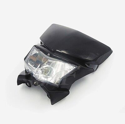 For Dirt Bike Motorcycle Universal Vision Headlight  Street Fighter Headlamp New
