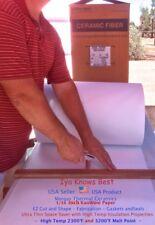 116 Kaowool 75 X 36 Ceramic Fiber Paper Kawl 500 Grade Thermal Ceramic 2300f