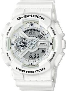 BRAND-NEW-CASIO-G-SHOCK-GA110MW-7A-ANA-DIGI-MENS-WHITE-RESIN-WATCH-NWT