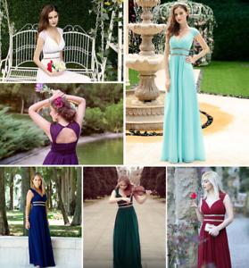 Formal Long Evening Dresses Pretty Women Elegant Maximum Quality Premium Wedding
