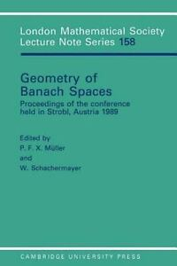 Details about Geometry of Banach Spaces : Proceedings of the Con