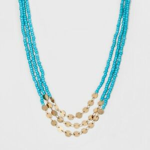 SUGARFIX-by-BaubleBar-Beaded-Layered-Necklace-Turquoise-b1