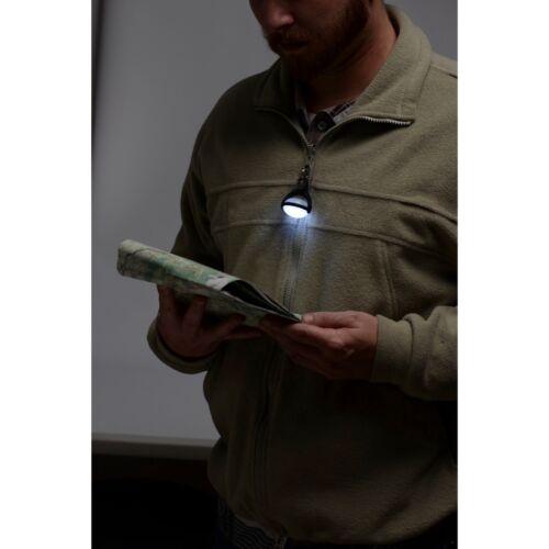 Nite Ize Au Clair de Lune DEL Micro Lanterne Blanc Avec Mousqueton Clip Tente Lumière pour camping