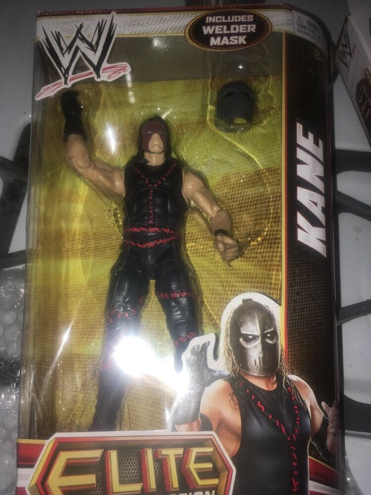 WWE ELITE Collection Series __KANE 7 inch action figure with Welder Mask