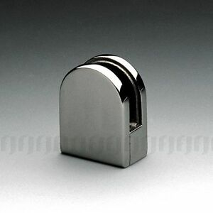 STAINLESS-STEEL-316-D-SHAPE-GLASS-CLAMP-FOR-8-10mm-GLASS-FLAT-BACK