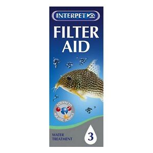 100ml-INTERPET-FISH-TANK-AQUARIUM-TREATMENT-FILTER-AID-FOR-CRYSTAL-CLEAR-WATER