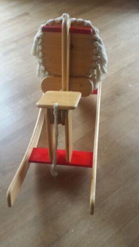 Schaukelpferd Holz Holzspielzeug