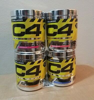CLUMPY/SOLID Cellucor C4 Original Series 60 Servings - READ DESCRIPTION