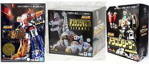 Power Rangers Soul de Chogokin Gx-72 Megazord Gx-78 Ensemble Dragonzord Gx-85 Titanus